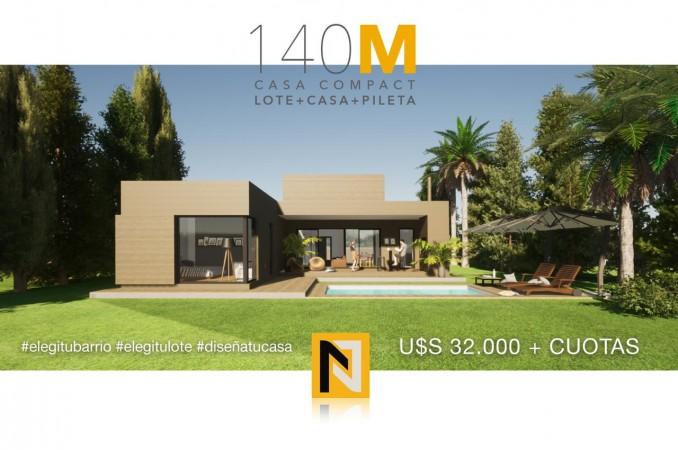 Casa Llave en Mano -  Lote + Casa + Pileta